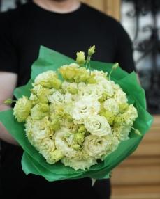Bouquet 15 white lisianthus