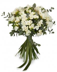 Bouquet 51 white freesias