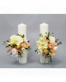Wedding candles LC14