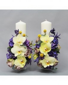 Wedding candles LC5