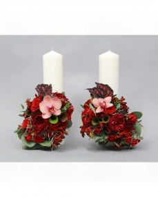 Wedding candles LC6