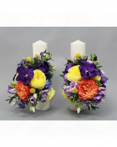 Wedding candles LC8