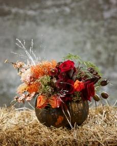 Floral arrangement The messengers of autumn