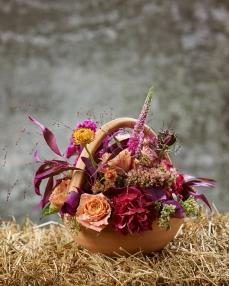 Aranjament floral O toamna altfel