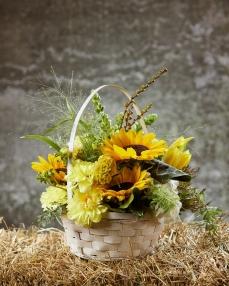 Aranjament floral Soare de toamna