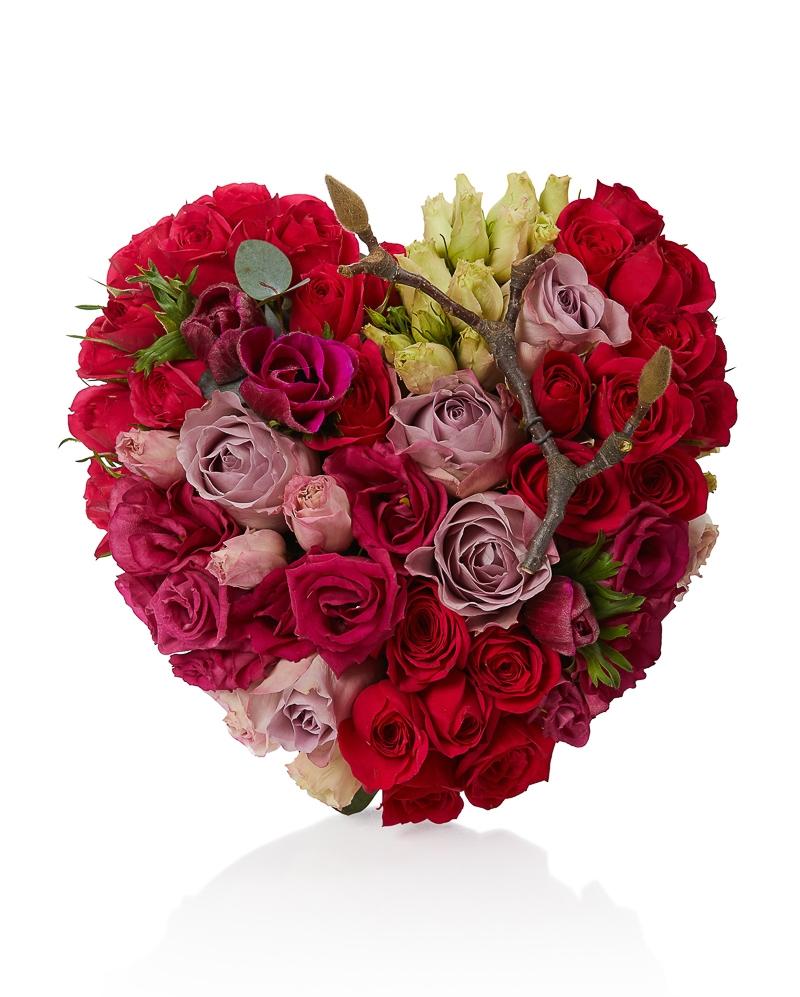 Aranjament floral Gaseste-mi loc in inima ta