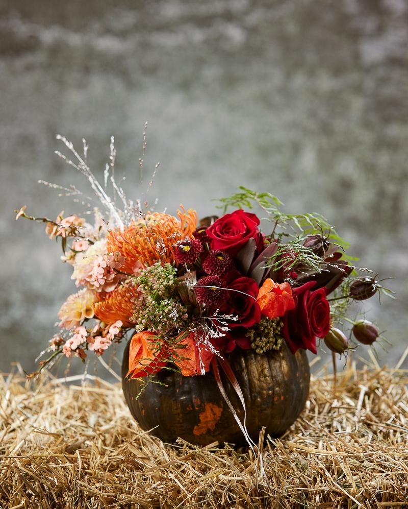 Aranjament floral Mesagerii toamnei